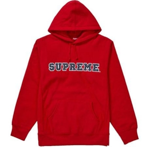 Supreme The Most Hooded Sweatshirt- Red