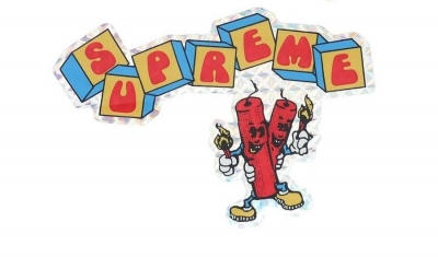 Supreme Dynamite Sticker