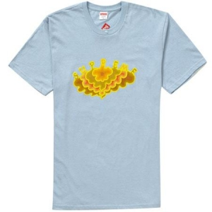 Supreme Cloud Tee- Light Blue