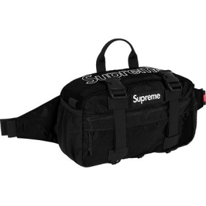 Supreme Waist Bag (FW19)- Black