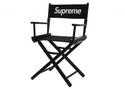 Supreme Director's Chair- Black
