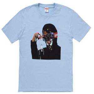 Supreme Creeper Tee- Light Blue