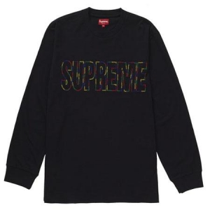 Supreme International L/S Tee- Black