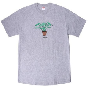 Supreme Plant Tee- Heather Grey