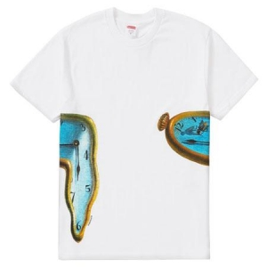 Supreme The Persistence Of Memory Tee- White