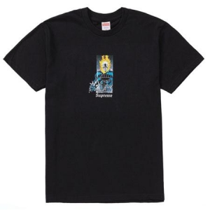 Supreme Ghost Rider Tee- Black