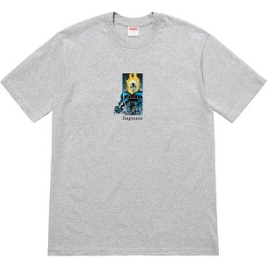 Supreme Ghost Rider Tee- Heather Grey