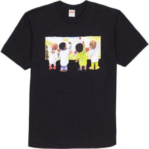 Supreme Kids Tee- Black