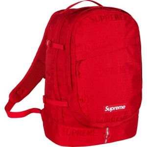 Supreme SS19 Backpack- Red