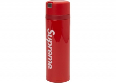 Supreme Zojirushi Stainless Steel Mug- Red
