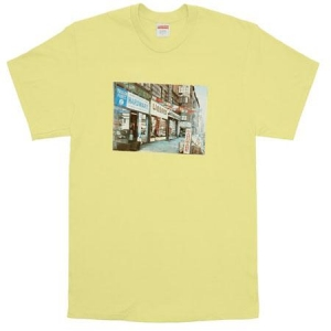 Supreme Hardware Tee- Pale Yellow