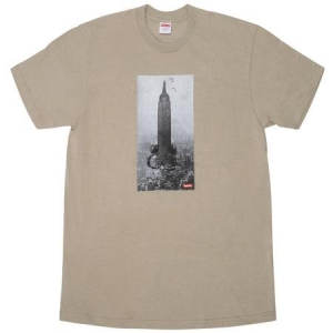 Supreme Mike Kelley The Empire State Building Tee- Clay