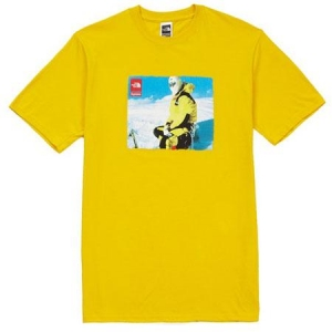 Supreme The North Face Photo Tee- Yellow