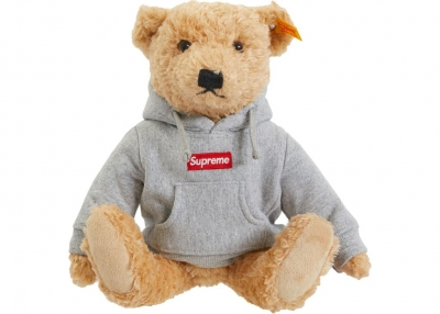 Supreme Steiff Bear- Heather Grey