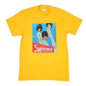 Supreme Group Tee- Bright Orange