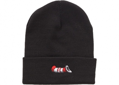 Supreme Cat in the Hat Beanie- Black