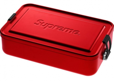 Supreme SIGG Large Metal Box Plus- Red