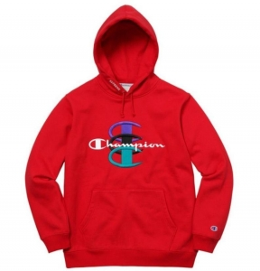 Champion Stacked C Hooded Sweatshirt