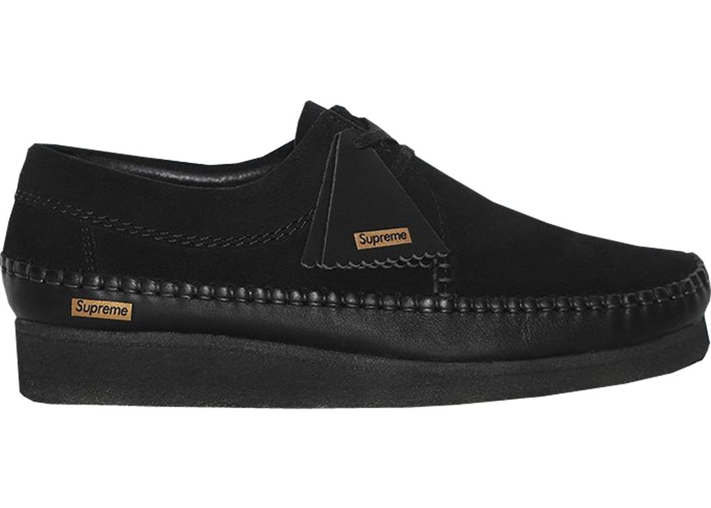 Clarks Weaver Supreme- Black- 9.5