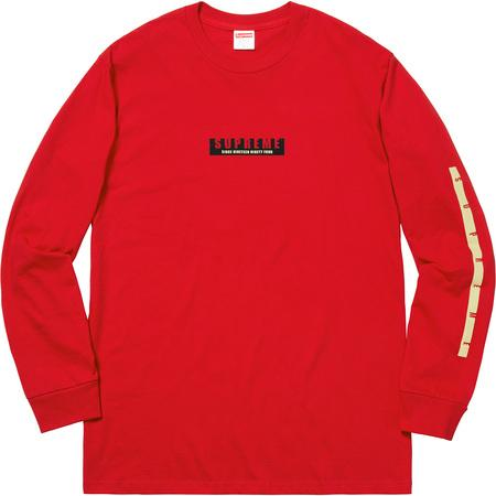 Supreme 1994 L/S Tee- Red