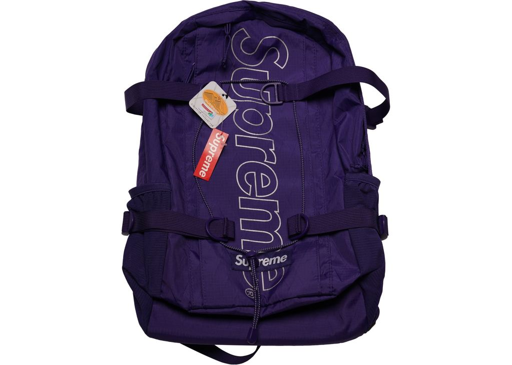 Supreme Backpack (FW18)- Purple