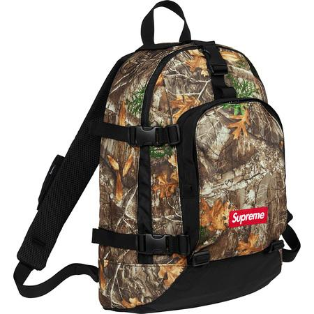 Supreme Backpack (FW19)- Real Tree Camo
