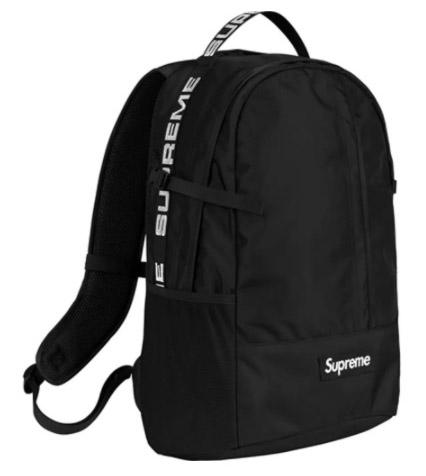 Supreme Backpack (SS18)- Black