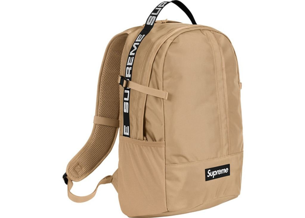 Supreme Backpack (SS18)- Tan