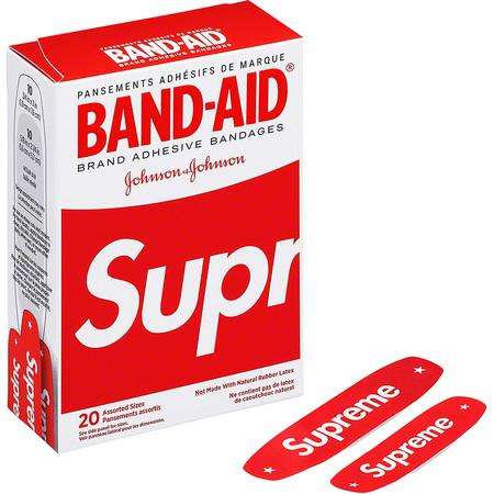 Supreme Band-Aid- Red