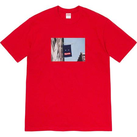Supreme Banner Tee- Red