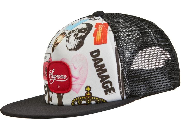 Supreme Blood Lust Mesh Back 5-Panel- Black