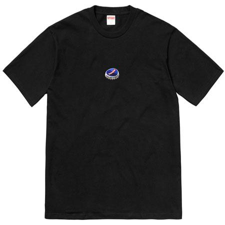 Supreme Bottle Cap Tee- Black