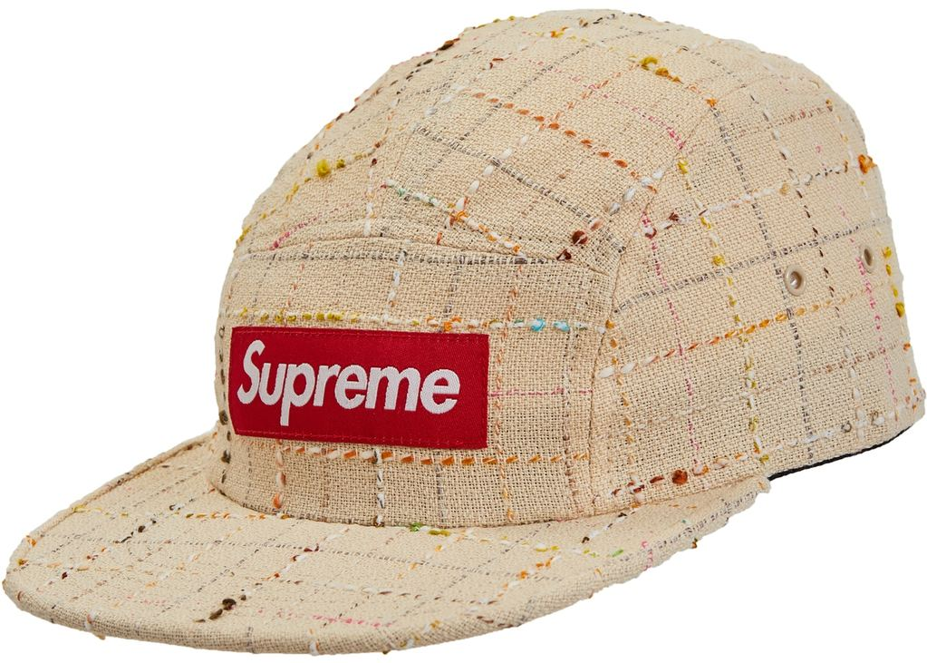 Supreme Boucle Camp Cap- Tan