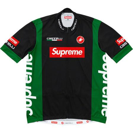 Supreme Castelli Cycling Jersey- Black