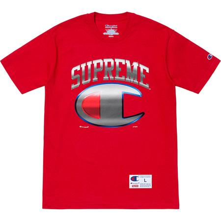 Supreme Champion Chrome S/S Top- Red