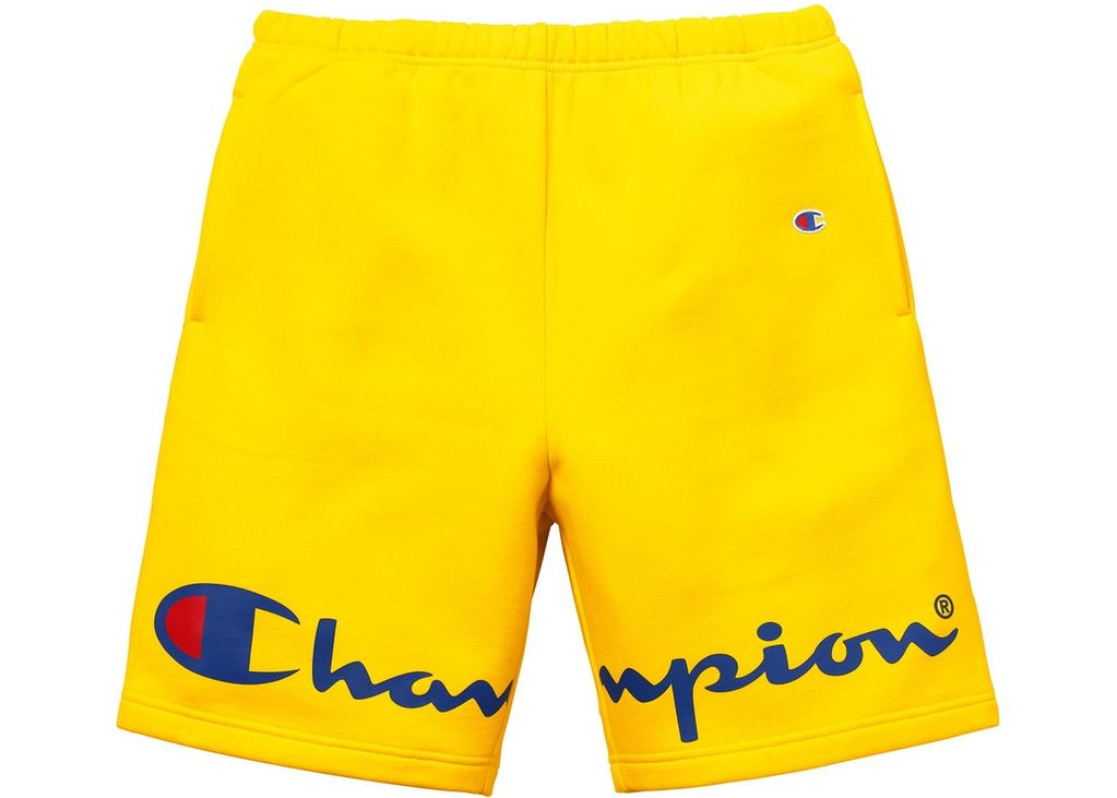 Supreme Champion Sweatshort- Yellow
