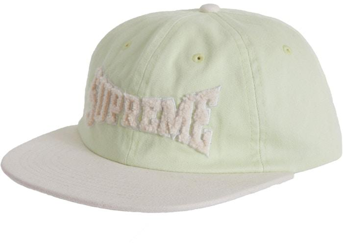 Supreme Chenille Logo 6-Panel- Pale Lime