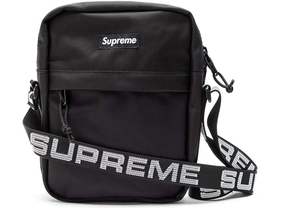 Supreme Cordura Shoulder Bag SS18- Black