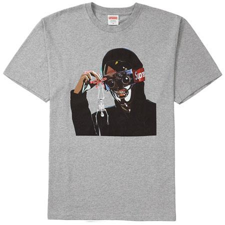 Supreme Creeper Tee- Heather Grey