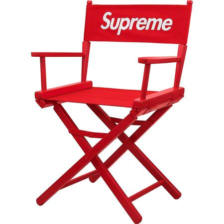 Supreme Director's Chair- Red