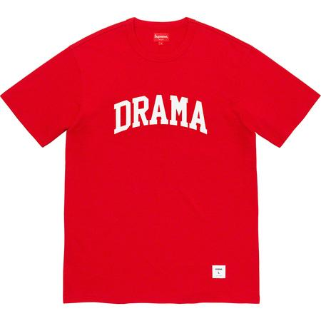Supreme Drama S/S Top- Red