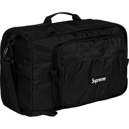Supreme Duffle Bag (FW19)- Black