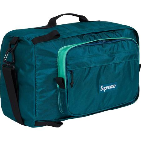 Supreme Duffle Bag (FW19)- Dark Teal