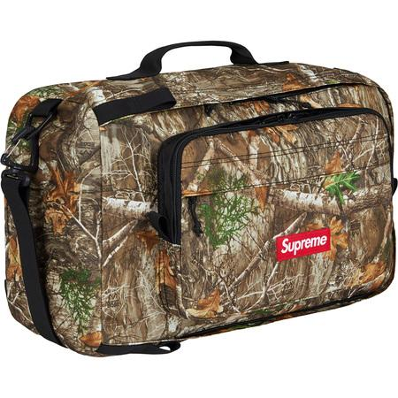 Supreme Duffle Bag (FW19)- Real Tree Camo