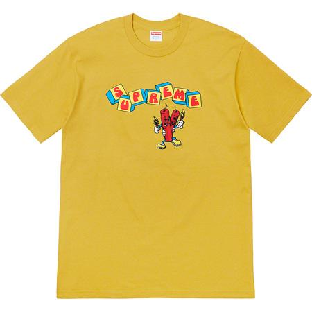 Supreme Dynamite Tee- Acid Yellow