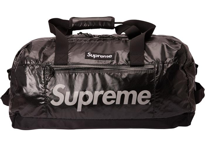 Supreme FW17 Duffle Bag Black