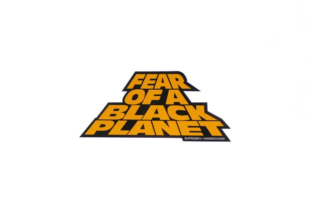 Supreme Fear of a Black Planet Sticker