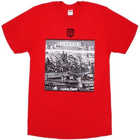 Supreme Fiorenza Tee- Red