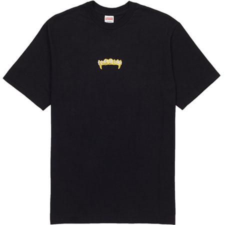 Supreme Fronts Tee- Black