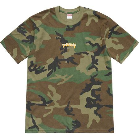 Supreme Fronts Tee- Woodland Camo